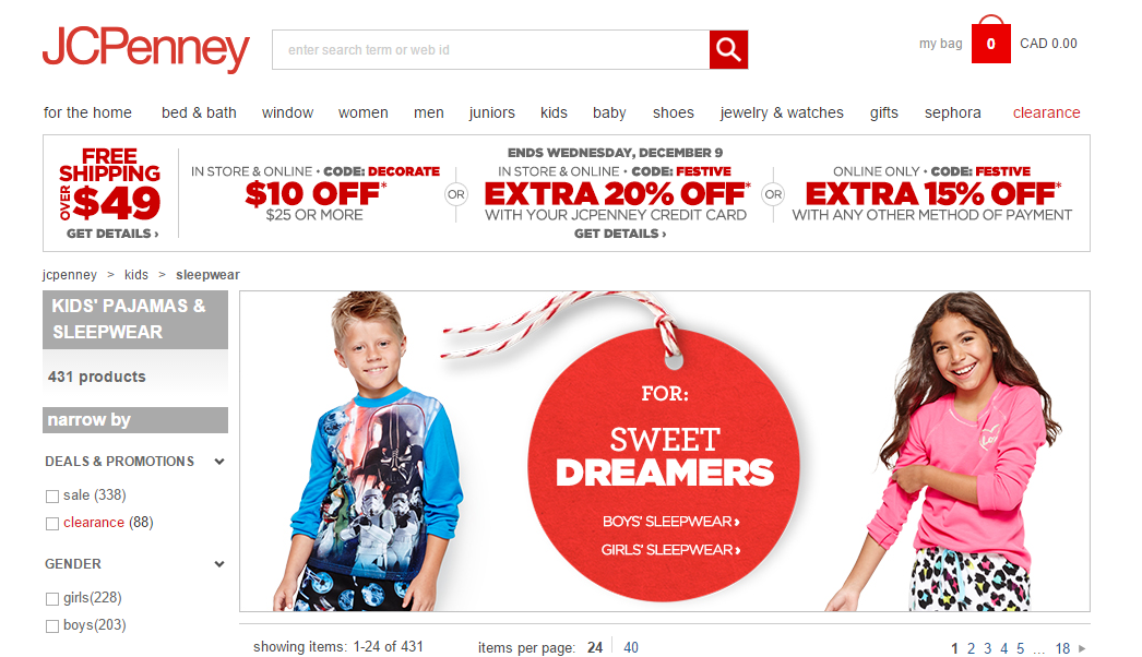 holiday campaigns JCPenney